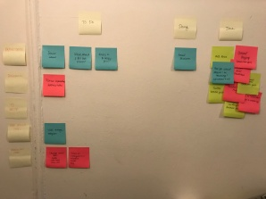 Scrum Board After Completing Tasks
