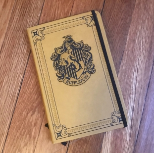 My Hufflepuff journal is for free writes and brain-dumps