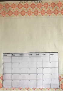 Monthly Tasks